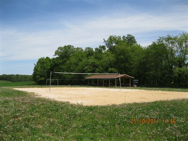 Photos of volleyball court