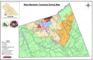 West Manheim Township Zoning Map - Click for PDF